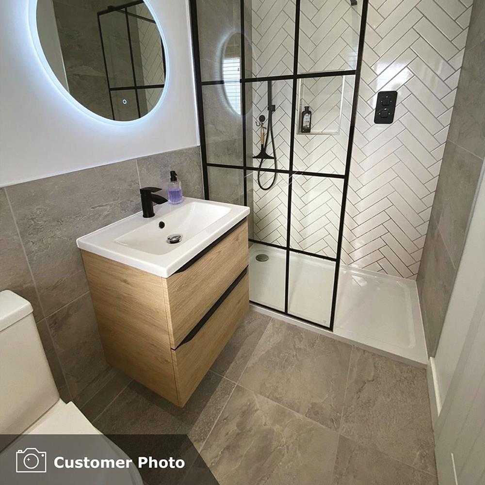 Nature Grey Tile 500x500mm - Wall & Floor Tiles - CTD Tiles