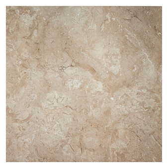 Natural Tones Mocha Marble Gloss Tile 600x600mm Wall