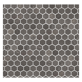 Marshalls Valmont Marble Hexagon Mosaic Tile 46x53mm Ctd