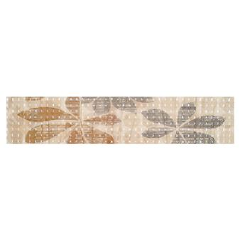 Elegant Beige Border 1 Tile - 600x125mm
