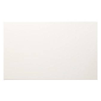 Streamline White Matt Tile - 400x250mm