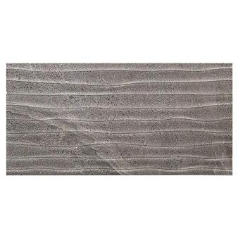 British Stone Antrasit Matt Wave Tile - 600x300mm