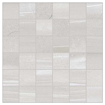 Linear Grey Mosaic Tile - 50x50mm (Sheet 300x300mm)