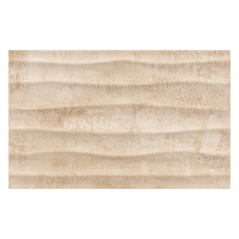 Cosy Beige Décor Matt Tile - 400x250mm