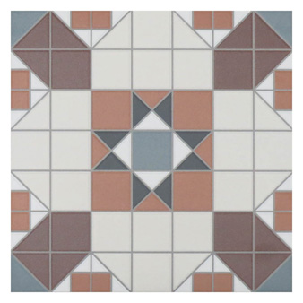 Victorian Heritage Blakeney White Tile - 316x316mm