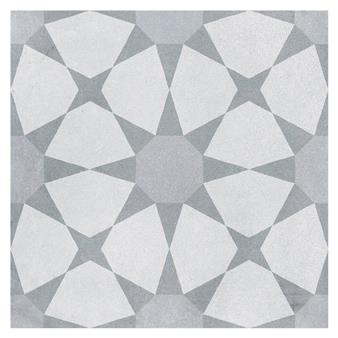Cuban Silver Star Tile - 223x223mm