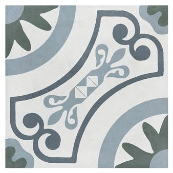 Havana White Garden Matt Tile - 223x223mm