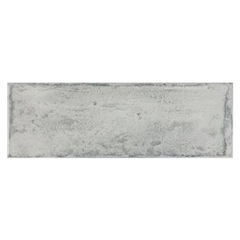 Arles Silver Gloss Tile - 300x100mm