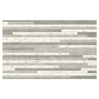 Dovedale Light Grey Relief Decor Tile - 400x250mm